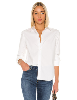 Gina Chemise Button Down In Blanc by A.P.C.