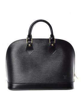 Louis Vuitton Epi Alma Pm Black by Louis Vuitton