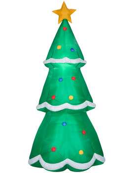 Holiday Time Yard Inflatables Christmas Tree, 10 Ft by Holiday Time