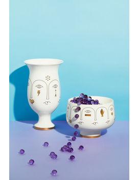 Vase Bas En Porcelaine by H&M