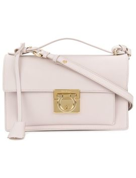 Gancio Lock Shoulder Bag by Salvatore Ferragamo