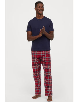 Pyjama T Shirt And Bottoms by H&M