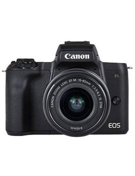 Kit Máquina Fotográfica Reflex Canon M50 + Ef M 15 45mm F/3.5 6.3 Is Stm + Ef M 22mm F/2 Stm by Worten