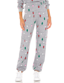 Twinkly Lights Easy Sweats by Wildfox Couture