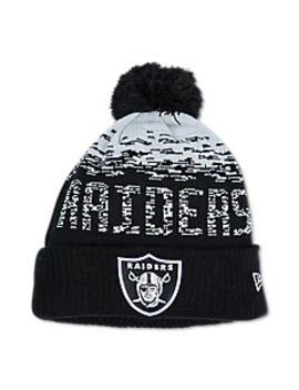 New Era Oakland Raiders   Unisex Knitted Hats & Beanies by New Era