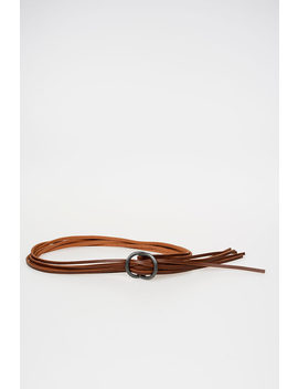 50mm Leather Belt by Issey Miyake