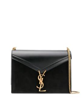 Cassandra Monogram Logo Shoulder Bag by Saint Laurent