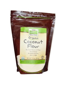 Now Foods, Organic Coconut Flour, 16 Oz (454 G) by Now Foods