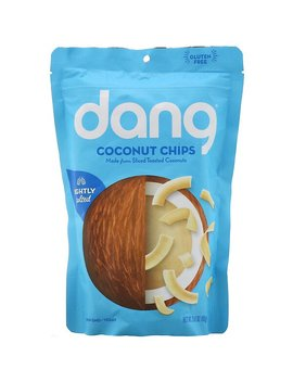 Dang, Coconut Chips, Lightly Salted, 3.17 Oz (90 G) by Dang