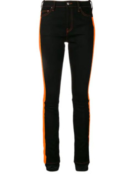 Side Stripe Skinny Jeans by Palm Angels