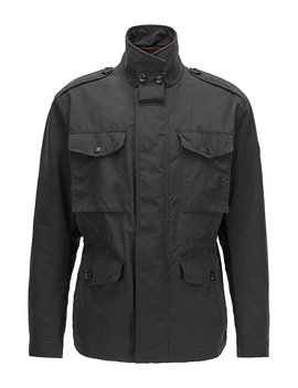 Water Repellent Field Jacket With Light Padding Water Repellent Field Jacket With Light Padding by Boss