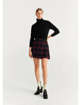 "<Font Style=""Vertical Align: Inherit;""><Font Style=""Vertical Align: Inherit;"">Mini Skirt With Pleated Hem</Font></Font> by Mango"