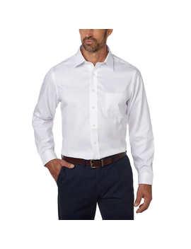 Kirkland Signature Men's Tailored Fit Dress Shirt   Exact Sleeve Length by Kirkland Signature