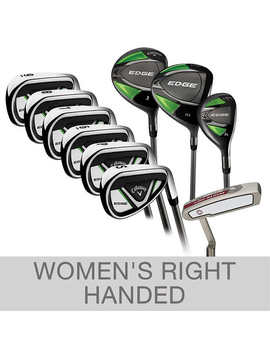 Callaway Edge 10 Piece Women's Graphite Golf Club Set, Right Handed by Callaway