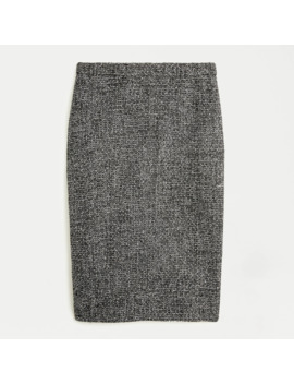 No. 2 Pencil® Skirt In Sparkling Constellation Tweed by No. 2 Pencil