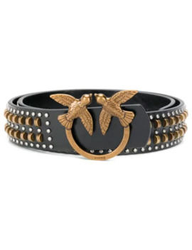 Branded Buckle Belt by Pinko