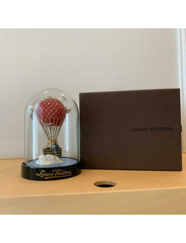 Louis Vuitton Glass Snow Globe Dome Maruaero Novelty Authentic 2013 Limited Vip by Louis Vuitton