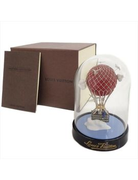Authentic Louis Vuitton Glass Snow Dome Maruaero Hot Air Balloon 2013 Limited by Louis Vuitton