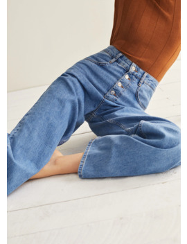 Utsvingte Wideleg Jeans by Mango