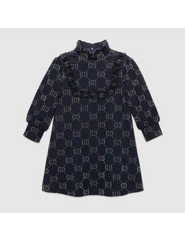 Children's Gg Lamé Dress by Gucci