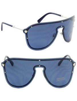 New Authentic Versace Ve2180 Pilot Sunglasses 4 Colors (Choose Color) by Versace