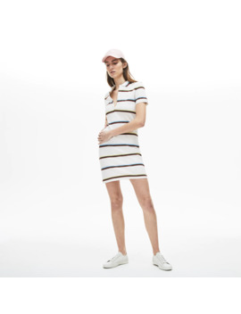 Women's Stretch Cotton Polo Dress by Lacoste