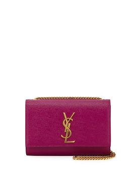 Saint Laurent Kate Monogram Ysl Small Grain Leather Crossbody Bag by Saint Laurent
