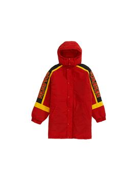 Supreme Sleeve Logo Sideline Parka Red by Stock X