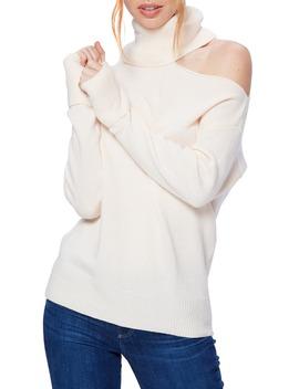 Raundi Cutout Shoulder Sweater by Paige