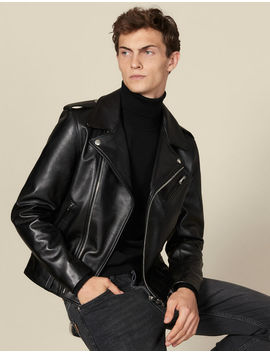 Leather Perfecto Jacket by Sandro Paris