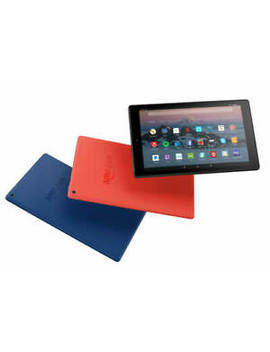 """Amazon Kindle Fire Hd 10\"""" Tablet [Latest Gen] Alexa/32 Gb/Dual Cam Black/Blue/Red by Amazon"""