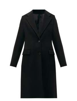 Marly Single Breasted Wool Blend Coat by Joseph