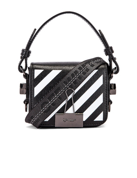Diagonal Baby Flap Bag by Off White