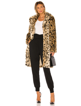 Jericho Faux Fur Coat by Cupcakes And Cashmere