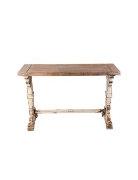 "Saffron 48"" Solid Wood Console Table by Ophelia & Co."