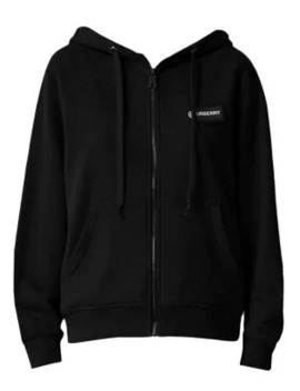 Aubree Check Zip Hoodie by Burberry