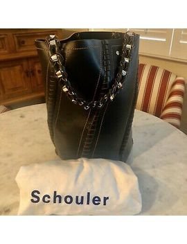 Proenza Schouler Large Whipstitch Bucket Hex Bag~Black by Proenza Schouler