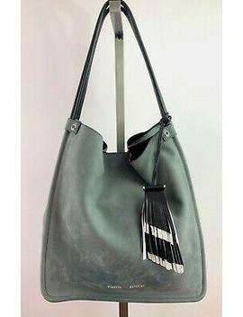 Proenza Schouler Grey Nubuck Suede Medium Tote Shoulder Bag $1290 by Proenza Schouler