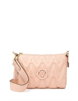 Marlene Quilted Leather Shoulder Bag by Valentino By Mario Valentino
