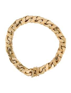 18 K Chain Link Bracelet by Bracelet