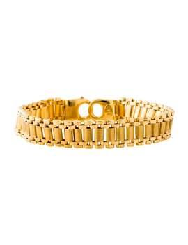 18 K Link Bracelet by Bracelet