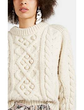 Milford Cable Knit Wool Sweater by Isabel Marant