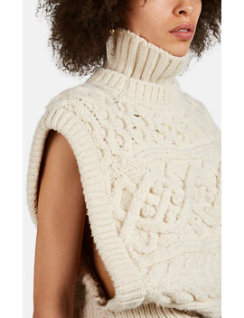 Minea Mixed Knit Wool Sweater by Isabel Marant