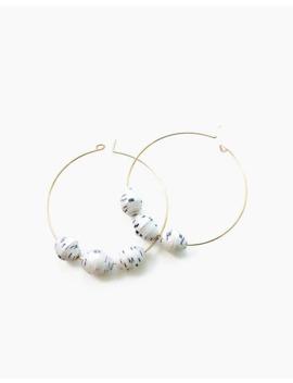 Natalie Borton Sydney Hoop Earrings by Madewell