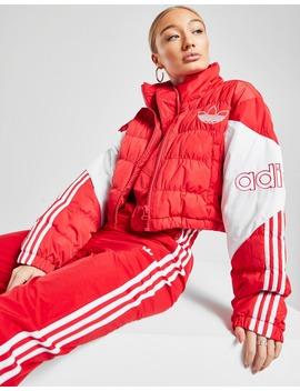 Adidas Originals Spirit Crop Padded Jacket by Adidas Originals
