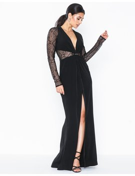 Lace Panel Maxi Dress by Topshop
