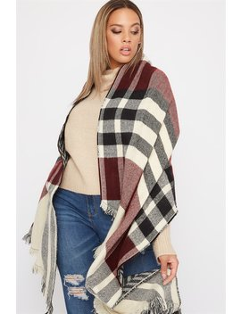 Reversible Printed Scarf by Urban Planet