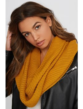 Knit Infinity Scarf by Urban Planet