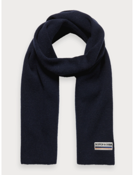 Rib Knitted Scarf by Scotch&Soda