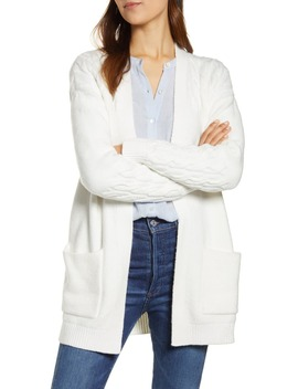 Venice Cable Cardigan by Lucky Brand
